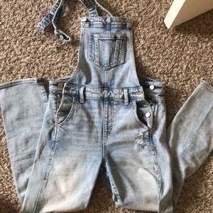 vintage y2k overalls!!! so cuteee